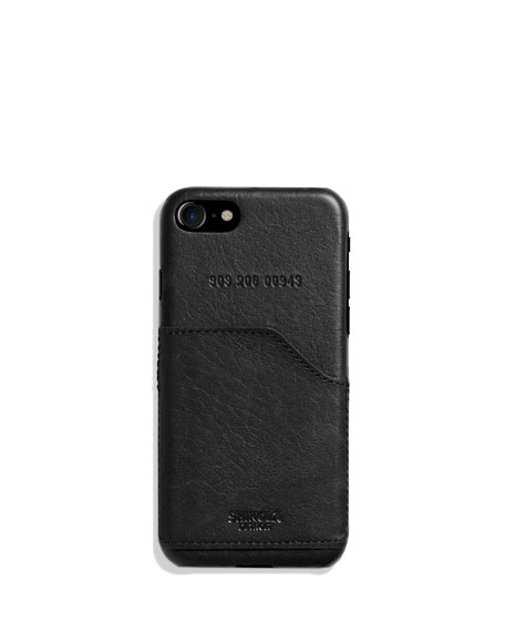 Image 1 of 2: Leather Wrapped iPhone 7 Case