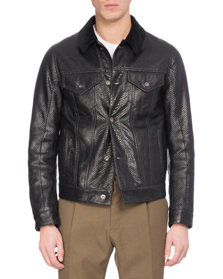 Berluti Python Western Jacket