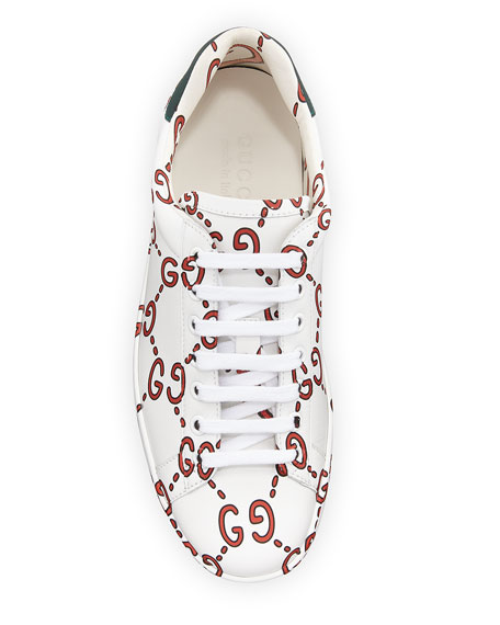 Ace Sneaker with GG Print