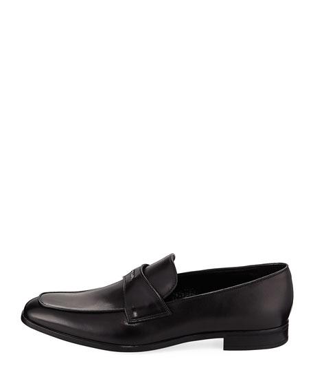 Prada Vitello Leather Dress Loafer