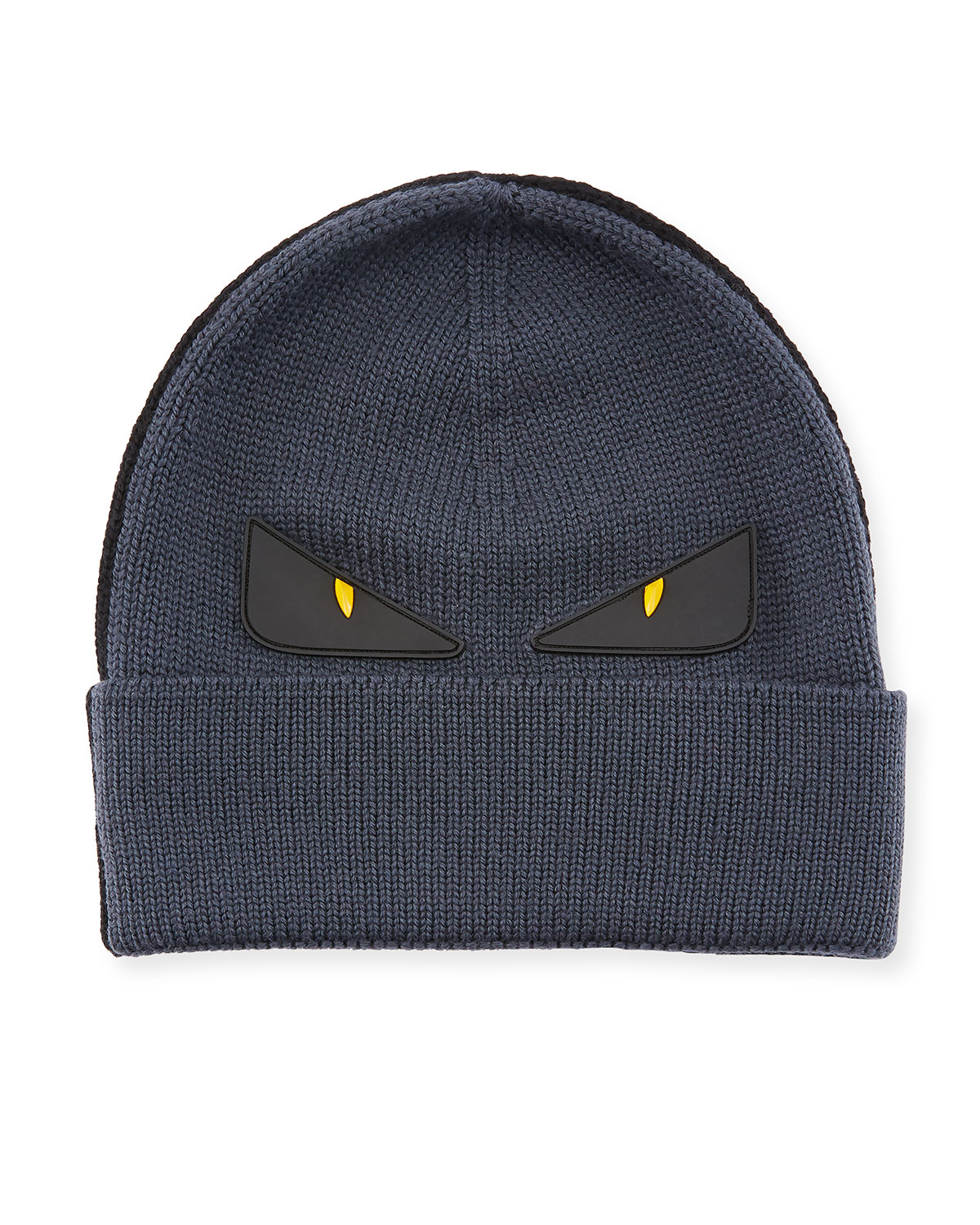 6582f9016d2 Fendi Monster Eyes Wool Beanie