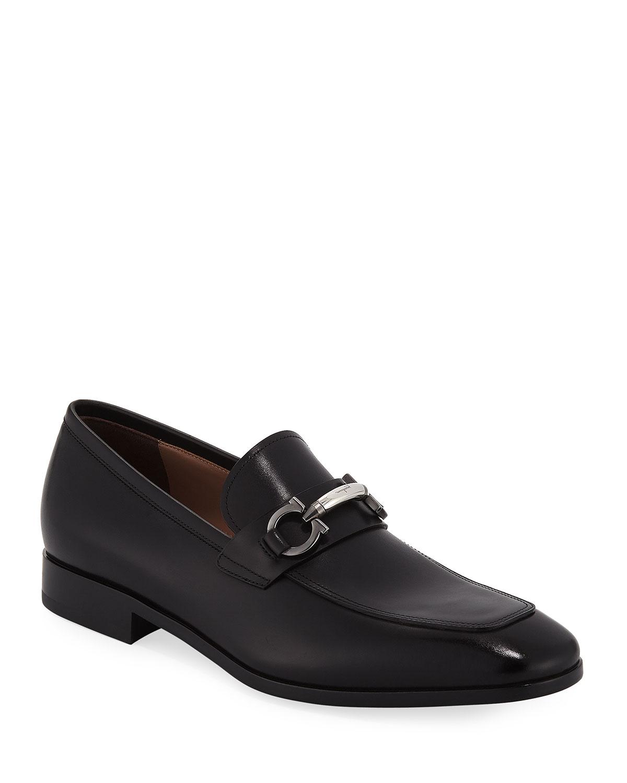 825ec8da30720 Men's Benford Gancini-Bit Leather Loafer