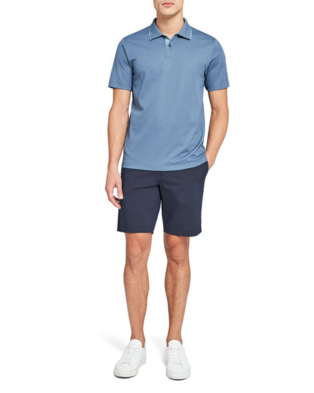 Image 4 of 5: Theory Standard Pique Polo Shirt