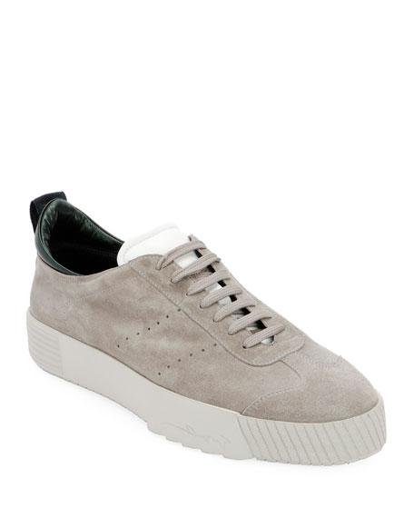 Men's Suede Low-Top Sneakers