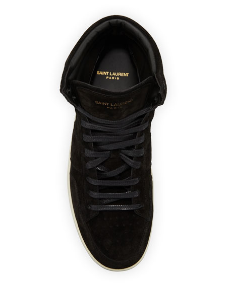 Image 2 of 3: Men's SL/10H Suede High-Top Sneaker