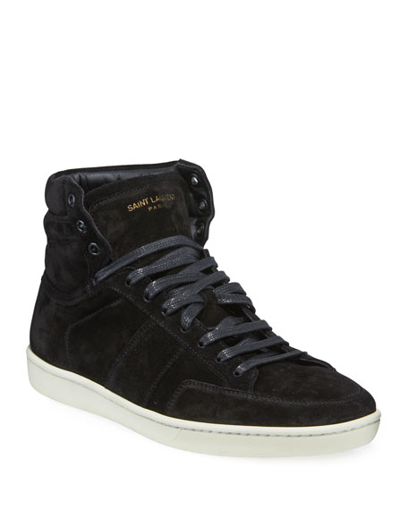 Image 1 of 3: Men's SL/10H Suede High-Top Sneaker