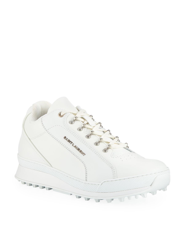 022a5943342af Saint Laurent Men s Jump Low-Top Leather Sneaker