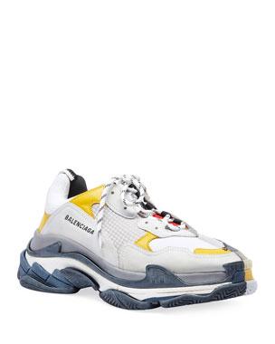 reputable site 2808e bf97e Balenciaga Men s Split Triple S Dad Sneakers