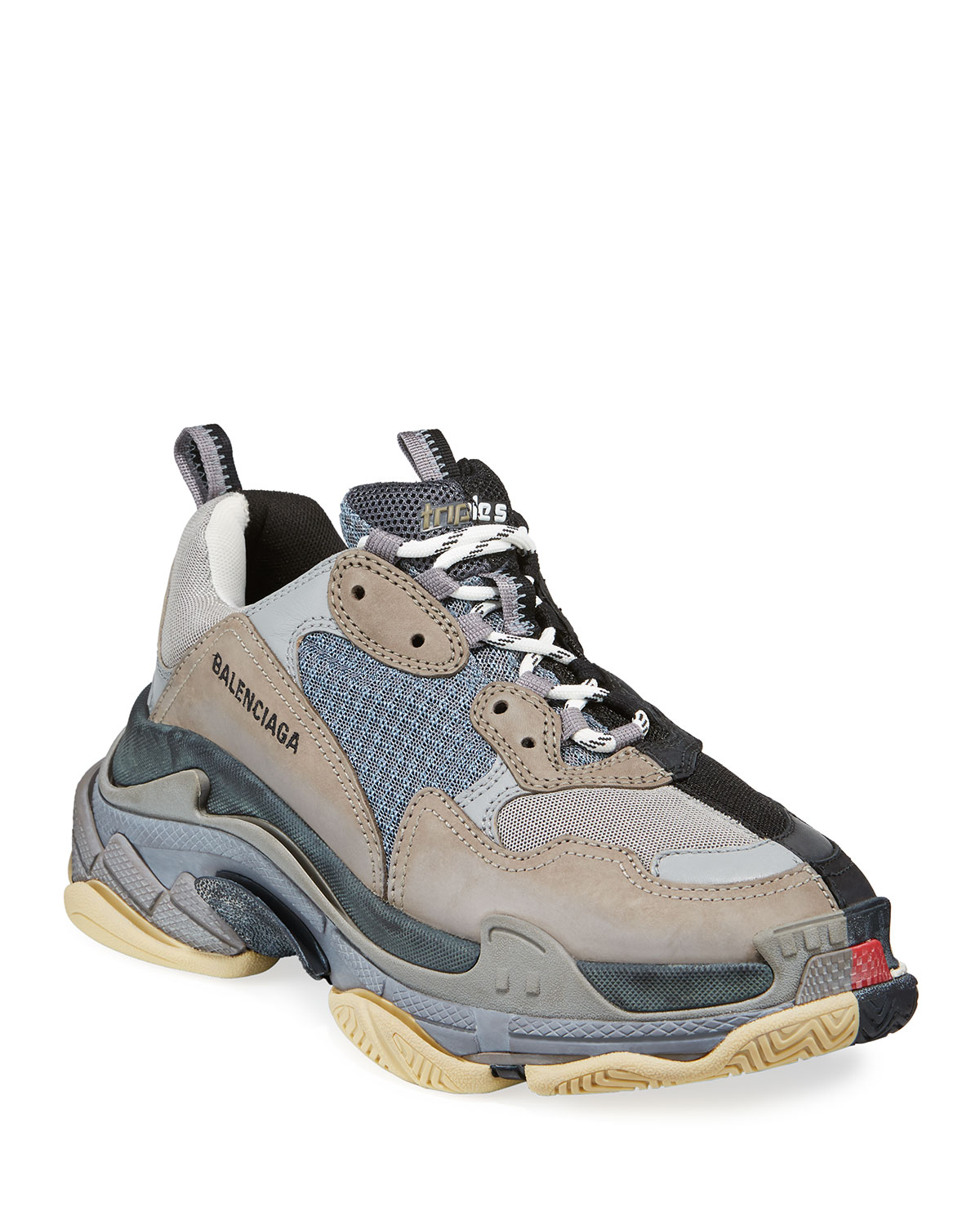 0465839a355d Balenciaga Men s Split Triple S Dad Sneakers