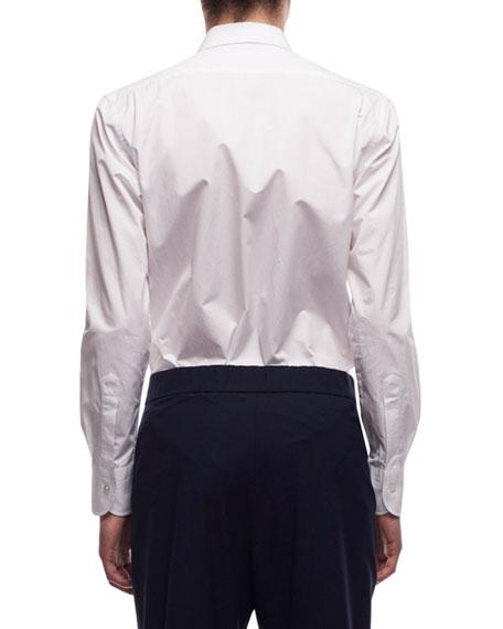 THE ROW Men's Ahmet Poplin Dress Shirt