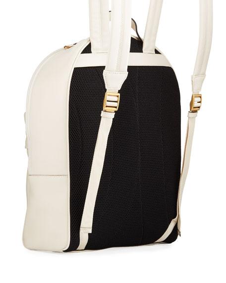Gucci Men's Vintage Logo-Print Leather Backpack