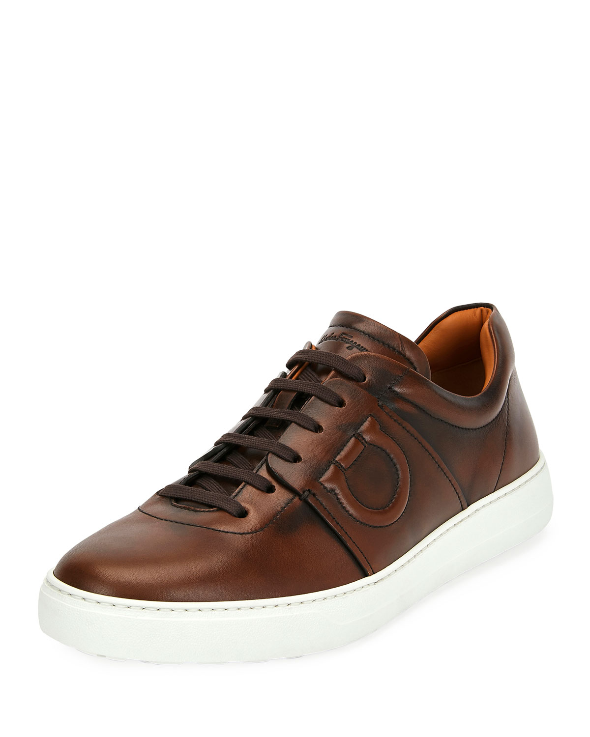Cult 6 Burnished Leather Low-Top