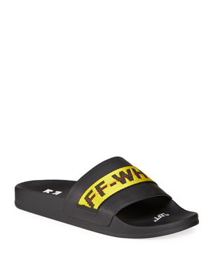 feac03cab2c8 Men's Designer Sandals & Flip Flops at Neiman Marcus