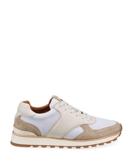 John Varvatos Men's Les Varsity Trainer Sneakers