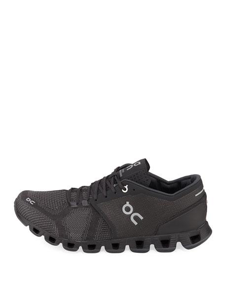On Men's Cloud X Knit Running Sneakers