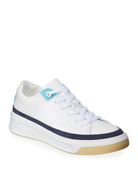 Buscemi Men's Prodigy Leather Lace-Up Sneakers