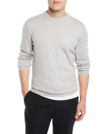 Brunello Cucinelli Men's Wool Crewneck Sweater