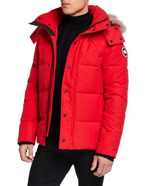 d1bb5e6e7 Men's Designer Coats & Jackets at Neiman Marcus