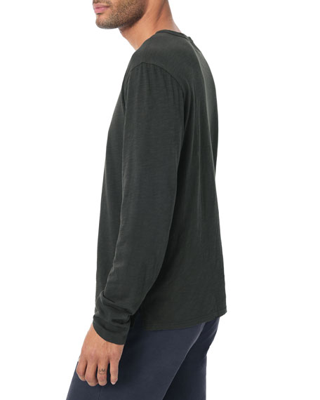 Image 3 of 3: Joe's Jeans Men's Slub Henley T-Shirt
