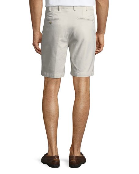 Image 2 of 3: Men's Crown Soft Touch Twill Shorts