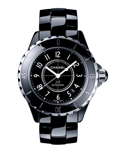 J12 Black 38MM Ceramic Watch