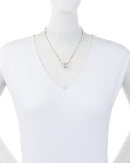 Grande Nudo 18K White & Rose Gold Diamond Pendant Necklace