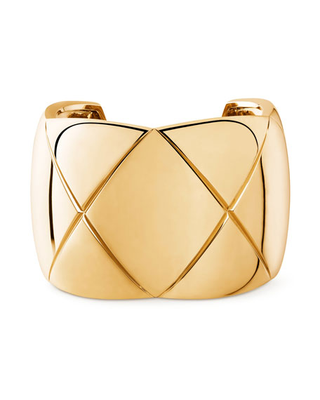 CHANEL COCO CRUSH CUFF IN 18K YELLOW GOLD