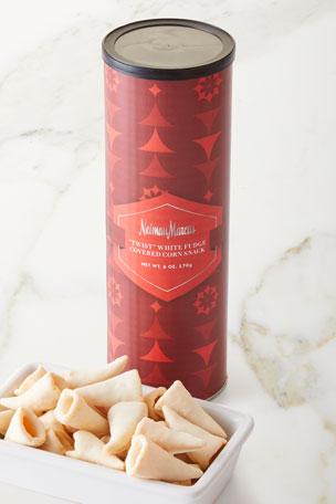 Neiman Marcus White Fudge-Covered Corn Twists
