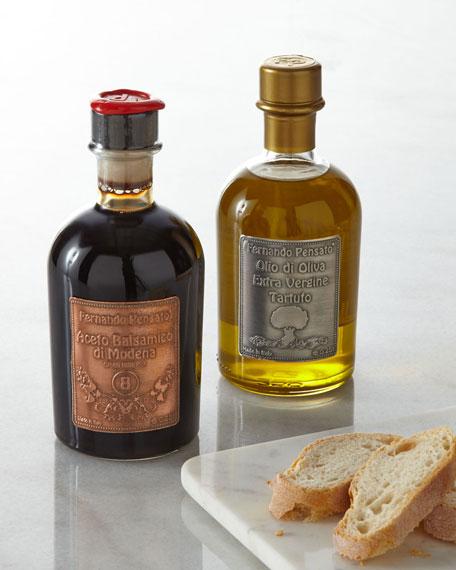 Fernando Pensato Metal Label Truffle Olive Oil &