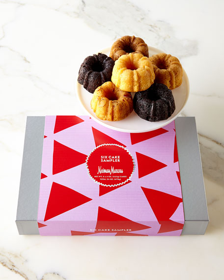 Neiman Marcus Six-Cake Holiday Sampler