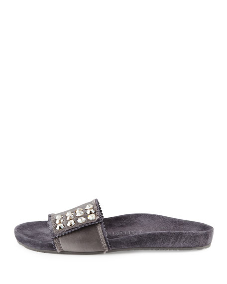 Arabela Crystal Slide Sandal