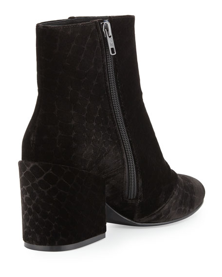 Erika Velvet Ankle Boot