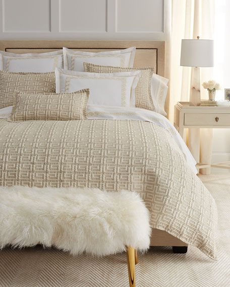 Sweet Dreams Queen Meander Coverlet