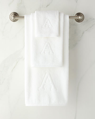 Auberge Monogrammed Towels