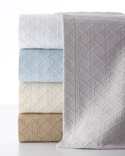 Marcus Collection Cane Matelasse Bedding