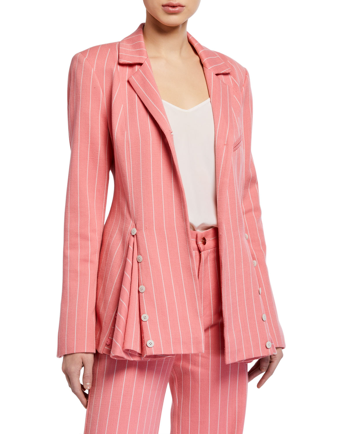 Maggie Marilyn Follow Your Heart Striped Blazer