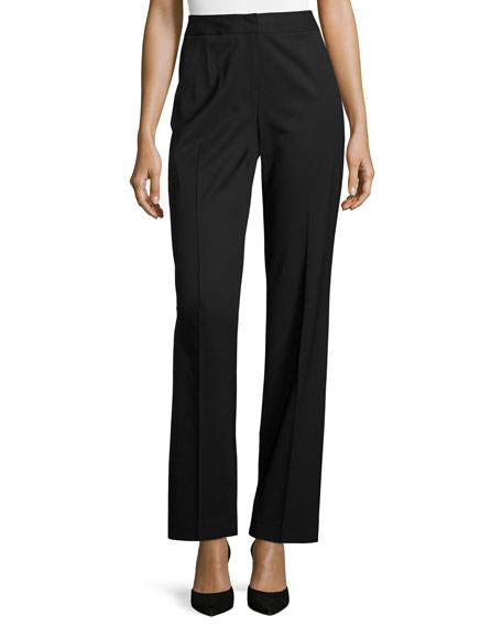 Lafayette 148 New York Menswear Stretch-Wool Pants