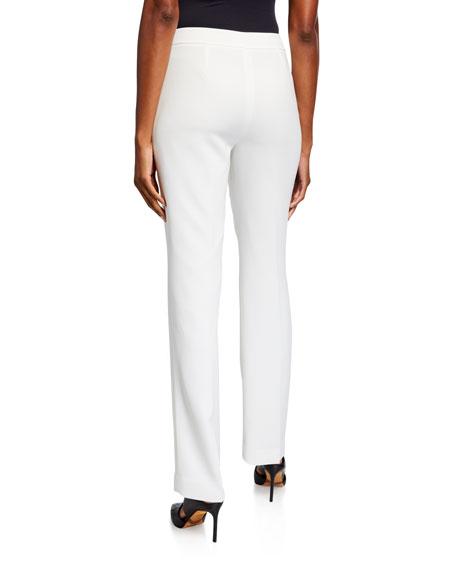Barrow Straight-Leg Crepe Pants