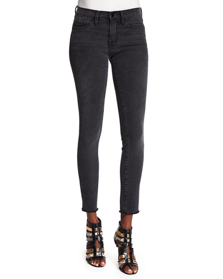 FRAME Le Skinny de Jeanne Ankle Jeans, Muddywaters