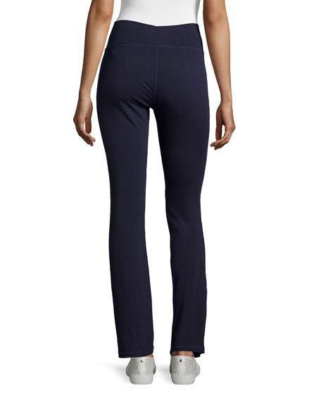 Stretch Jersey Yoga Pants, Petite