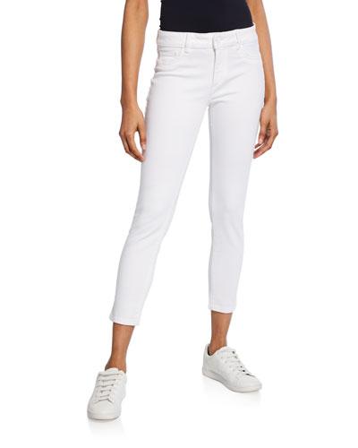 Florence Instaculpt Cropped Skinny Jeans  Porcelain