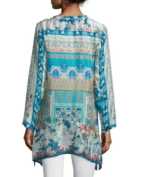 Chapman Long-Sleeve Printed Tunic