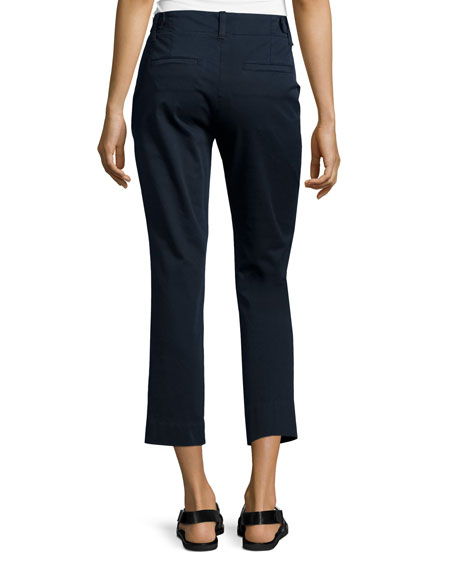 Vince Flat-Front Chino Pants