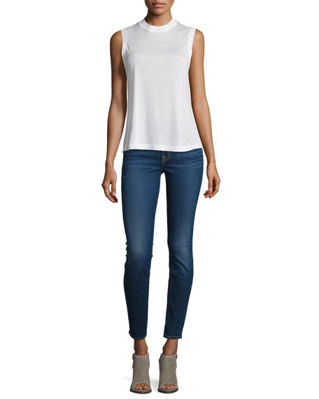 7 For All Mankind The Ankle Skinny Jeans, B[Air] Duchess