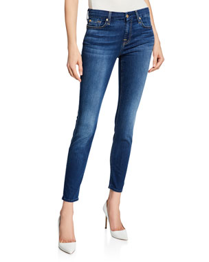 a13fe8d016e7 7 for all mankind The Ankle Skinny Jeans, B[Air] Duchess