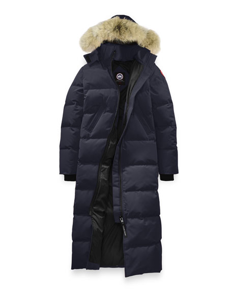 MYSTIQUE FUR HOOD LONG PARKA