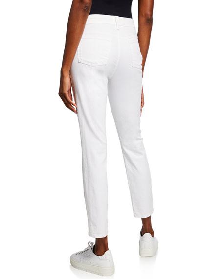 Organic Skinny Ankle Jeans, Petite