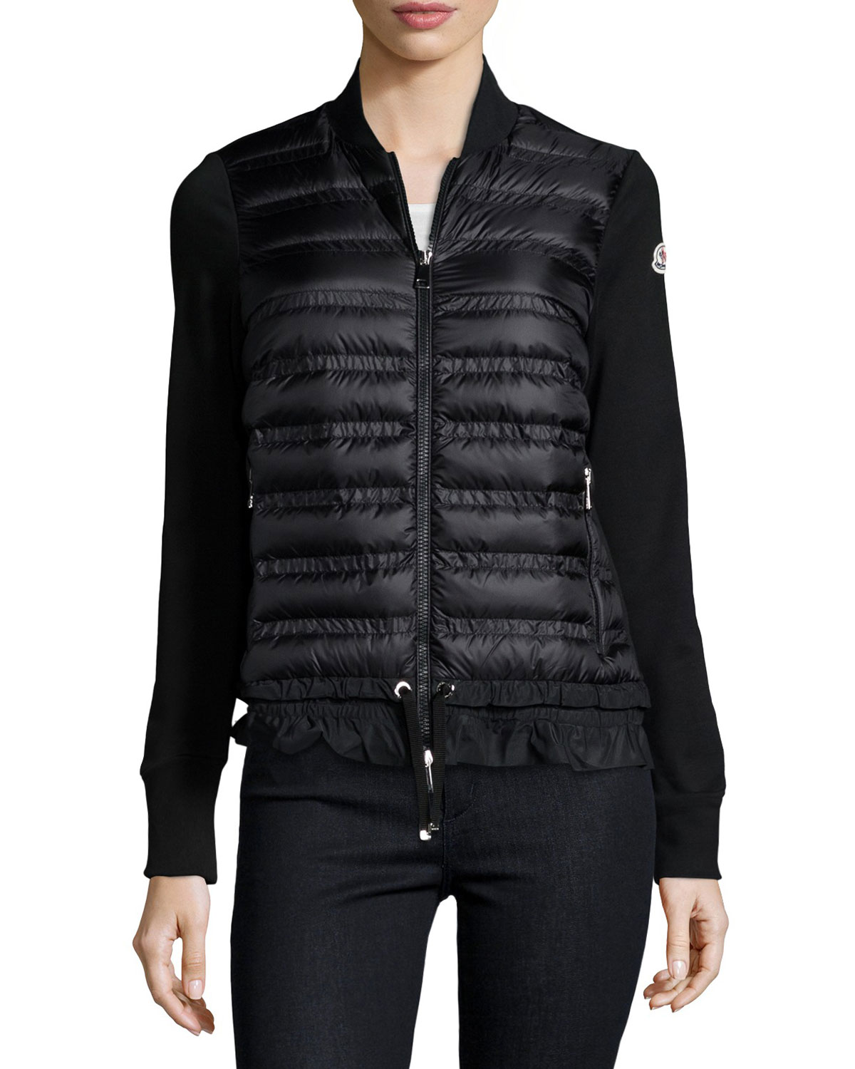 Moncler Maglia Quilted Down Cardigan  a99400d164e