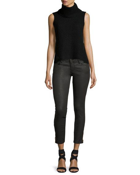 EM7010 Signature Zip-Cuff Skinny Jeans