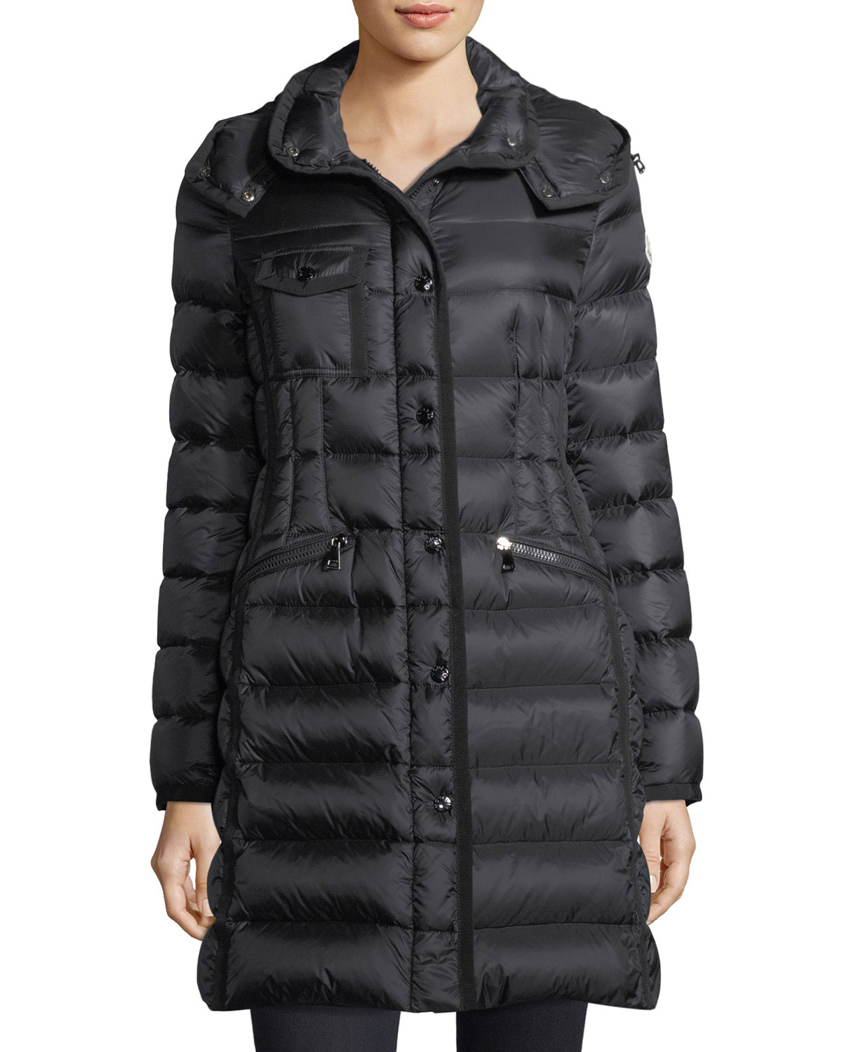 509bf2998b45 Quick Look. Moncler · Hermine Hooded Puffer Jacket
